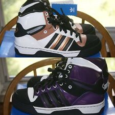 Womens Adidas Attitude High Black Purple Brown White Sz 7 7.5 8 8.5 9 9.5