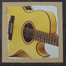 Pop-kard feat. WASBURN 12 String ACUSTICA CHITARRA 15x15cm greeting card AAQ