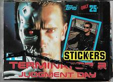 TERMINATOR 2 T2 JUDGMENT DAY TOPPS STICKER WAX BOX FROM 1991