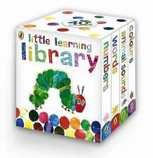 The Very Hungry Caterpillar Little Learning Library Book Child Eric Carle