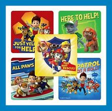 16 Paw Patrol Ryder Chase Marshall Rocky Zuma Rubble Skye Stickers Party Favors