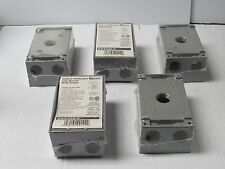 NEW LOT OF 5 BIZLINE SINGLE GANG BOX RX5322-0 RX53220