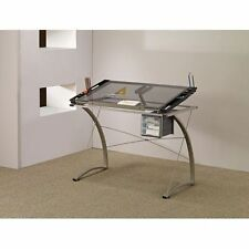 Glass Table Drawing Coaster Home Furniture Office Desks Art Drafting Table Craft