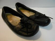 KEEN Black Leather Slipper/Moccasin Shoes Size 11 Ladies