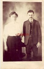 couple in photo MR and MRS ANNA ASH, CENTERVILLE, IOWA dressed in Sunday Best