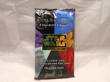 STAR WARS CCG REFLECTIONS SEALED BOOSTER PACK OF 18 CARDS