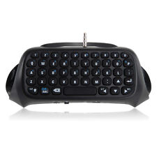 Teclado Bluetooth V3.0 Wireless para PS4 Playstation PS4 Controlador Mando Negro
