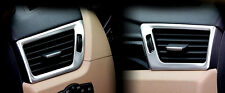 Stainless Steel Side Air Vent Frame Cover Trim 2pcs For BMW X1 E84 2009-2015