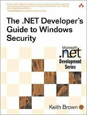 The .NET Developer's Guide to Windows Security (Microsoft .NET Development Serie
