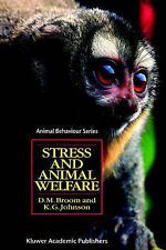Stress and Animal Welfare by Donald M. Broom, K.G. Johnston (Paperback, 1993)