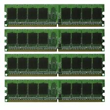 New 4GB PC6400 DDR2 4x1GB PC2-6400U 800MHz Non Ecc 240 pin Desktop Memory Ram
