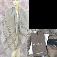 "GUCCI Authentic New Designer Womens Guccissima GG Shawl Scarf Wrap 55"" x 55"""