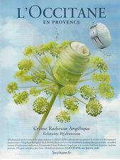 Publicité Advertising 2011  //  L' OCCITANE  EN PROVENCE  Angélique