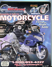 JC Whitney Accessories & Parts For Motorcycles Catalog EX 071616jhe