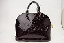 Authentic Louis Vuitton Hand Bag Alma MM  M90024  Vernis 65851