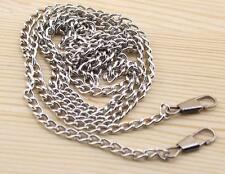 """120CM  / 47.24"""" Smooth Metal Chain for Handbag purse or Shoulder strap bag D"""