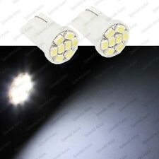 For Chevrolet White 8-SMD 194 2825 LED Bulbs License Plate Lights
