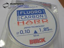MONOFILO BULOX FLUORO CARBON 100% HARD 50mt 0,10mm 1,85kg - FIL72