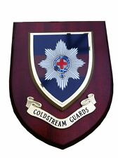 Coldstream Guards Military Wall Plaque UK Hand Made for MOD