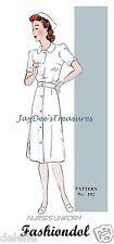 102 Fashiondol Mannequin Vintage Doll Pattern Nurse