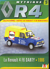 AUTOMOBILE Renault 4 F6 Darty 1986    15 pages