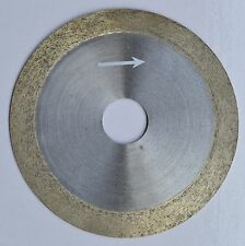 "4"" 100mm x 20mm x 1mm Diamond continuous rim saw blade Glass Wet Cutting Blade"