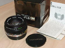 OLYMPUS OM ZUIKO 50mm F1.8 LENS NEW IN BOX LENS LATER MC VERSION