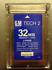 HOLDEN Australia Tech 2 Memory Card 32MB 136.000 1997-2012 GM Tech2 Scanner TIS