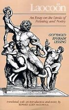 Laocoon : An Essay on the Limits of Painting and Poetry by Gotthold Ephraim...