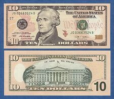 United States 10 Dollar 2009 UNC P 532 UNC (1 note)Low Shipping! Combine FREE!