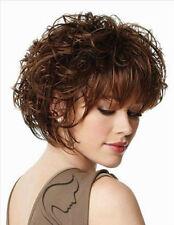 100% Echthaar! Damen dunkelbraune haare, perücken, natürliche frauen + perücke