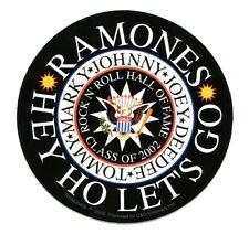 THE RAMONES: rock n' roll hall of fame STICKER **FREE SHIPPING** -hey ho