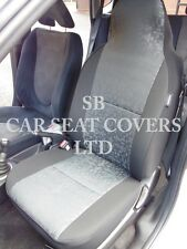 TO FIT A TOYOTA STARLET, CAR SEAT COVERS, RETROLL GREY 2 FRONTS