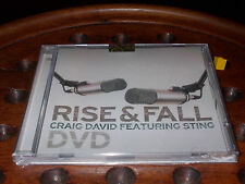 David Craig Feat Sting - Rise & Fall  Dvd ..... New