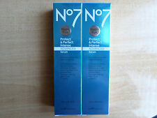 2 X NO7 PROTECT AND PERFECT INTENSE ADVANCED BEAUTY SERUM LARGE SIZE 50ML X 2