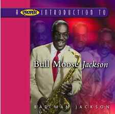 Bull Moose Jackson - Proper Introduction to (Bad Man Jackson, 2004) SEALED CD
