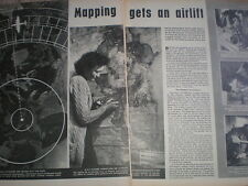 Article map making Directorate Colonial Surveys Colworth Surbiton 1952 My Ref R