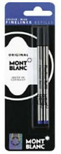2 MONTBLANC FINELINER  REFILLS BLUE  NEW IN PACKAGE