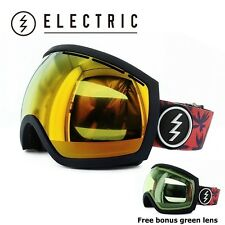 NEW Electric EG2 Blue Fronds Red Mirror ski snowboard goggles 2015 Msrp$180