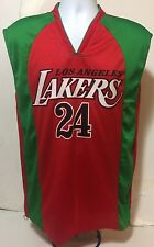 Kobe Bryant LA Lakers Rare Mexico Flag Colors NBA Jersey Size M Black Mamba