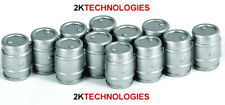 EFE 99607 - Aluminium Beer Kegs (4) x 3 1/76th Scale = 00 Gauge - 1st Class Post