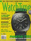 WATCH TIME,THE MAGAZINE OF FINE WATCHES October 2013.