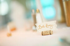 180 cut Wine Cork name placecard holders, wedding, party, table seating