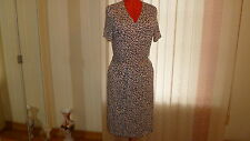 NWT ESCADA SPORT short sleeves wrap dress in pastel red animal prints sz 44/14US