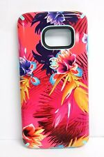 USED Speck 75848-5373 CandyShell Inked Case Samsung Galaxy S7 Wild Tropic NO BOX
