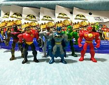 BATMAN UNLIMITED Mighty Mini's (series 1). Complete Set of 6 Mini Figures.