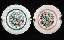 Pair of EXPO '74 Souvenir Ashtray 1974 World's Fair in Spokane, WA - Never Used