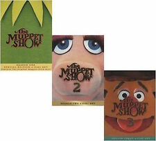 The Muppet Show Complete Collection Seasons 1-3 DVD SET TV Lot Comedy Box Kermit