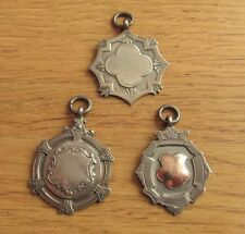 Rare Vintage Silver Players Medals (football) - A.King / Corinthians FC B457 916