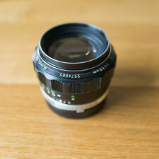Rare minolta rokkor pg 58mm f1.2 & réversible sony alpha conversion mount